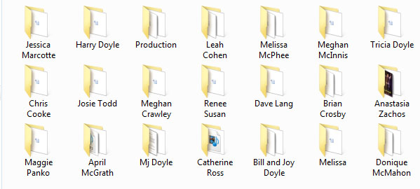 all folders