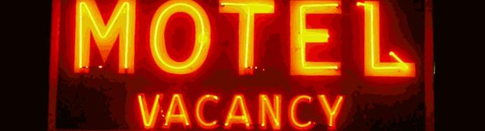 motel banner copy