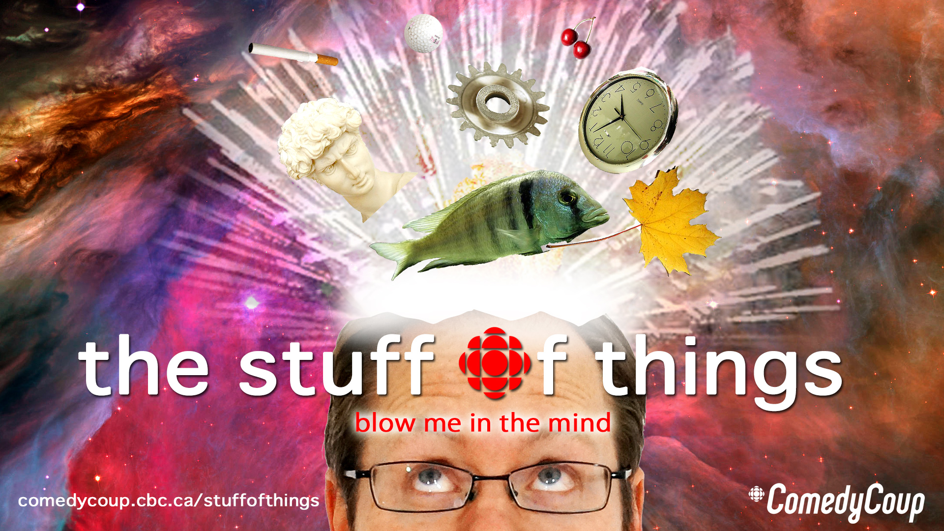 Stuff of Things - Key Art - Head explodes Brian
