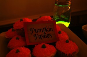 Pumpkin Pasties: Pumpkin Cupcakes