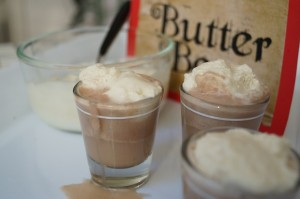 Spiked Butter Beer Shots